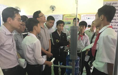 Ngày hội sáng tạo khoa học kỹ thuật của học sinh