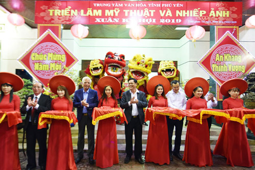 Khai mạc Hội Hoa Xuân và triển lãm mỹ thuật - nhiếp ảnh Xuân Kỷ Hợi 2019