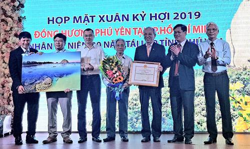 Lãnh đạo tỉnh gặp mặt Hội đồng hương Phú Yên tại TP Hồ Chí Minh
