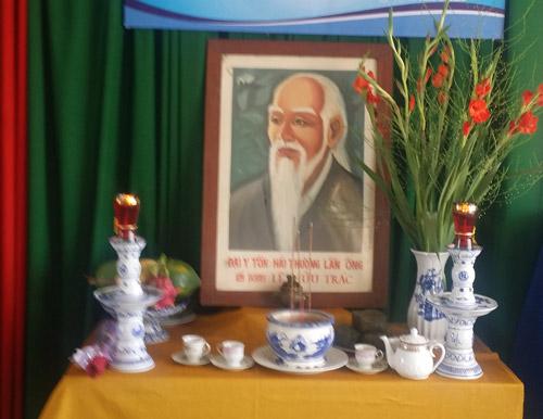 Phú Yên: Dâng hương Đại Y Tôn Hải Thượng Lãn Ông Lê Hữu Trác (1720 - 1791)