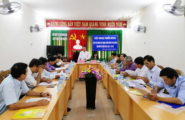 Hội nghị triển khai Cuộc thi Sáng tạo của Thanh, Thiếu niên và Nhi đồng tỉnh Phú Yên lần 4 (2018-2019)