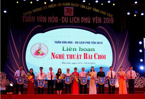 Khai mạc Liên hoan Nghệ thuật Bài chòi Phú Yên năm 2019