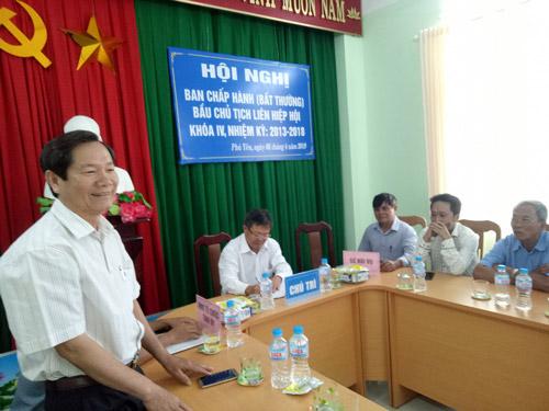 Ông Nguyễn Văn Khoa được bầu làm Chủ tịch Liên hiệp Hội