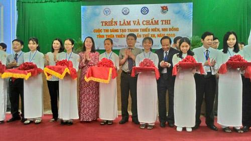 Khai mạc triển lãm và chấm thi Cuộc thi Sáng tạo Thanh thiếu niên, Nhi đồng tỉnh Thừa Thiên Huế lần thứ XII, năm 2019