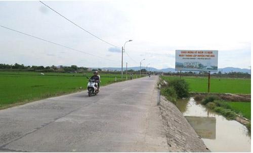 Phú Yên thực hiện tốt Chương trình mục tiêu Quốc gia xây dựng nông thôn mới