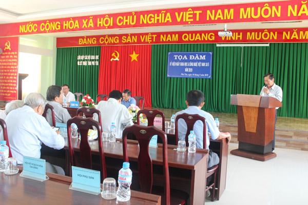 Phú Yên: Tọa đàm kỷ niệm ngày Khoa học và Công nghệ Việt Nam 18/5