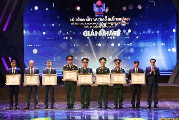 45 công trình đoạt giải thưởng Sáng tạo Khoa học công nghệ Việt Nam năm 2018