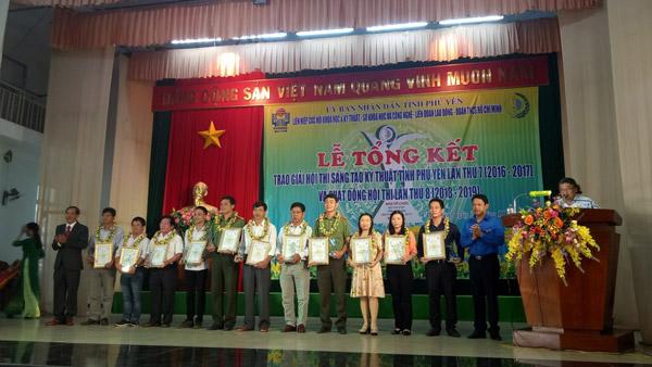 Lễ Tổng kết trao giải Hội thi Sáng tạo kỹ thuật tỉnh Phú Yên năm 2017