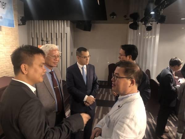 Lãnh đạo tỉnh có buổi làm việc với Đại sứ quán Việt Nam tại Hàn Quốc