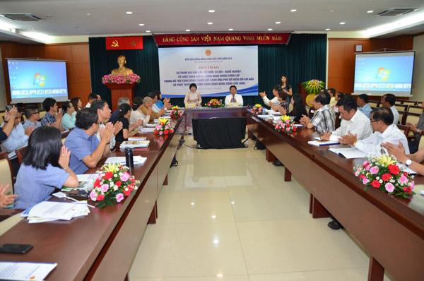 Vai trò của tổ chức xã hội-nghề nghiệp, khoa học và công nghệ trong việc phát triển bền vững ĐBSCL