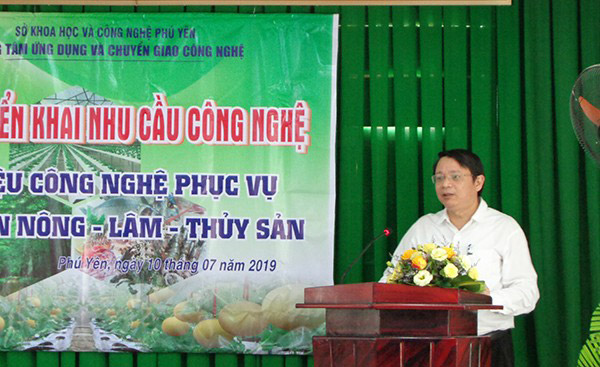 Hội nghị giới thiệu công nghệ phục vụ phát triển nông, lâm, thủy sản