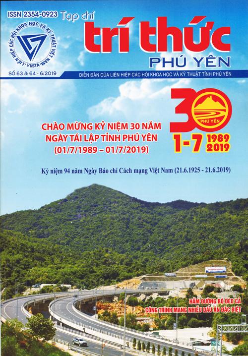 Tạp chí Trí thức Phú Yên số 63 & 64