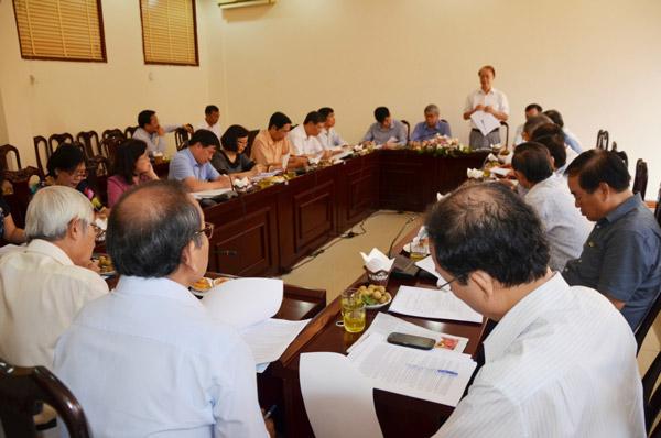 Hội nghị Đoàn Chủ tịch Hôi đồng Trung ương Liên hiệp Hội Vệt Nam lần thứ 10 - khóa VII