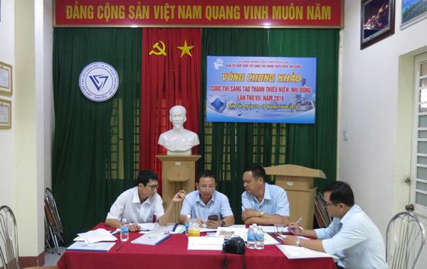 Đắk Lắk: chung khảo Cuộc thi Sáng tạo Thanh thiều niên nhi đồng 2019