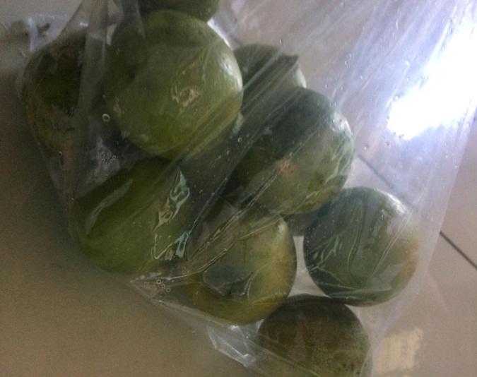 Túi dùng để đựng và bảo quản trái cây trong điều kiện bình thường