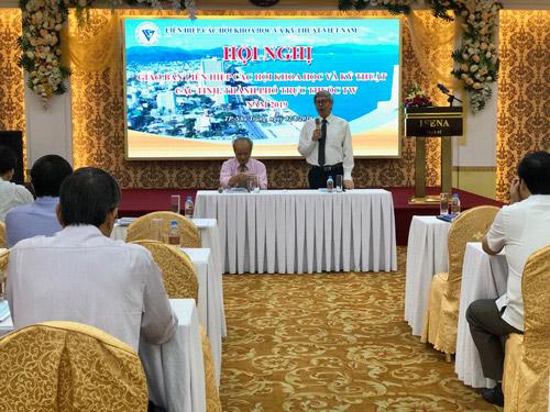 GS.TSKH Đặng Vũ Minh, Chủ tịch Liên hiệp Hội Việt Nam phát biểu khai mạc