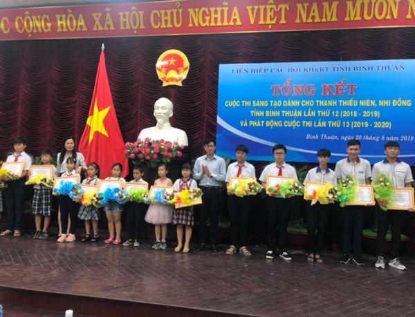 Bình Thuận: 42 mô hình, sản phẩm đoạt giải cuộc thi sáng lần thứ 12