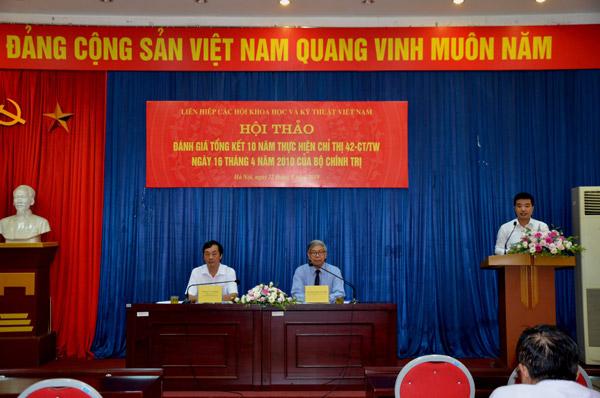 Liên hiệp Hội Việt Nam - 10 năm thực hiện Chỉ thị 42 của Bộ Chính trị