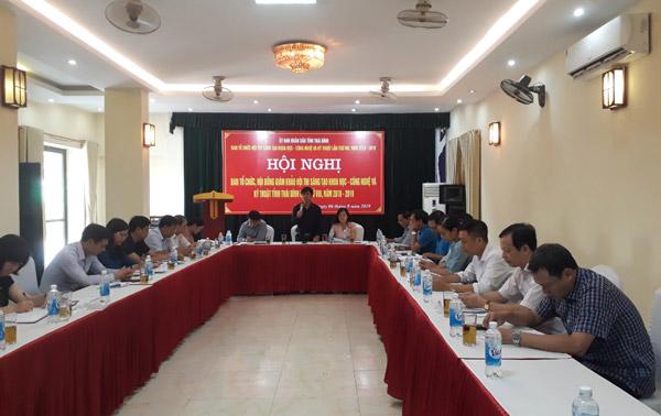 Thái Bình: Dự kiến trao 60 giải Hội thi Sáng tạo Khoa học - Công nghệ và Kỹ thuật lần thứ VIII