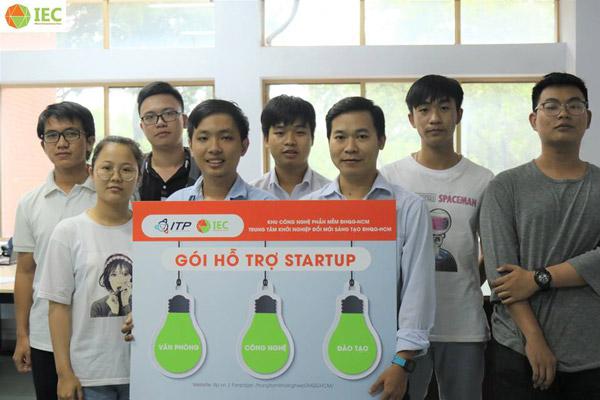 Nhóm tác giả được hỗ trợ gói Startup khởi nghiệp sáng tạo