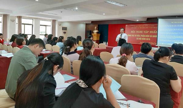 Lai Châu: Tập huấn công tác tư vấn, phản biện và giám định xã hội