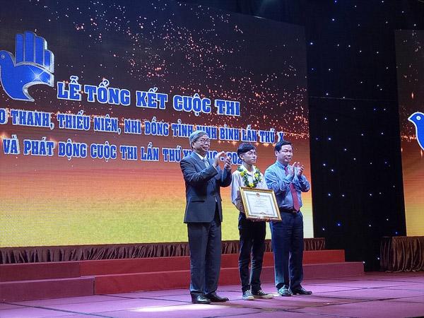 Ninh Bình: Tổng kết và trao giải Cuộc thi sáng tạo thanh, thiếu niên và nhi đồng