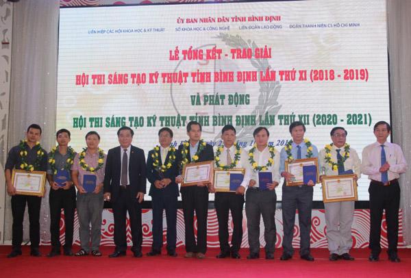 Bình Định: 36 giải pháp đoạt giải Hội thi STKT tỉnh lần thứ XI