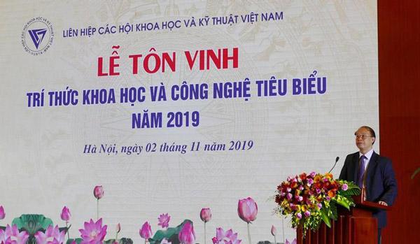 TS Phạm Văn Tân – Phó chủ tịch kiêm Tổng thư ký Liên hiệp Hội Việt Nam