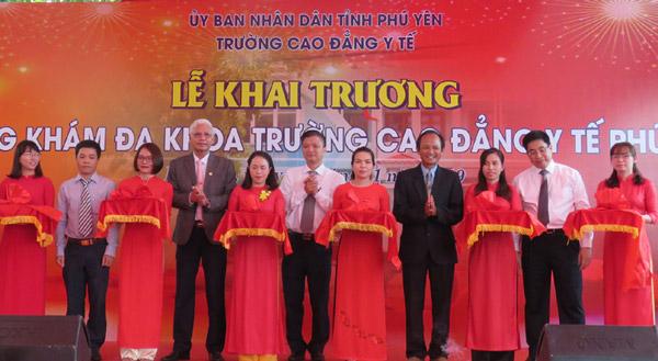 Trường cao đẳng Y tế Phú Yên: Khai trương Phòng khám Đa khoa