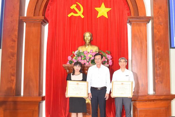 Tiền Giang: Tổng kết và trao giải Hội thi Sáng tạo kỹ thuật