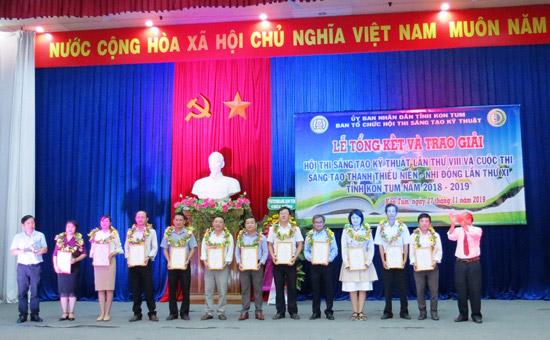 Kon Tum: Tổng kết và trao giải Hội thi, Cuộc thi năm 2018-2019