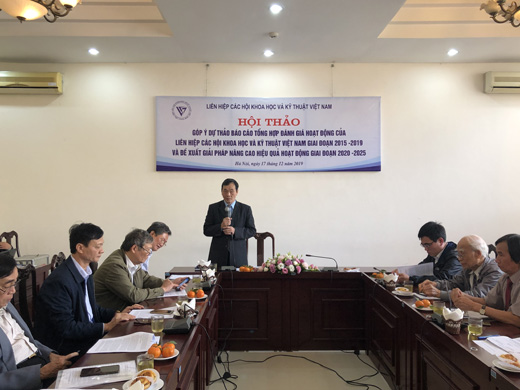 TS Phan Tùng Mậu – Phó chủ tịch Liên hiệp Hội Việt Nam