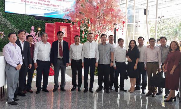 Lãnh đạo tỉnh làm việc một số đơn vị, doanh nghiệp tại thành phố Hồ Chí Minh