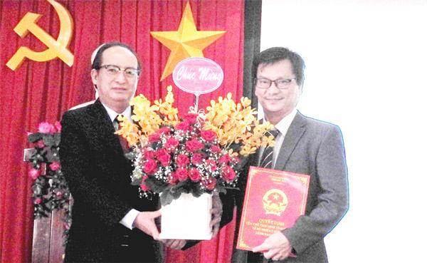 Ông Dương Bình Phú giữ chức vụ Giám đốc Sở KH-CN