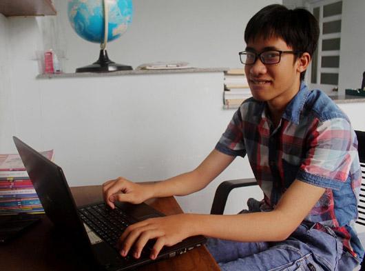 Phú Yên: Cậu học trò đam mê sáng tạo