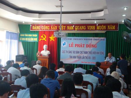 Ninh Thuận: Phát động Cuộc thi Sáng tạo lần thứ XIV