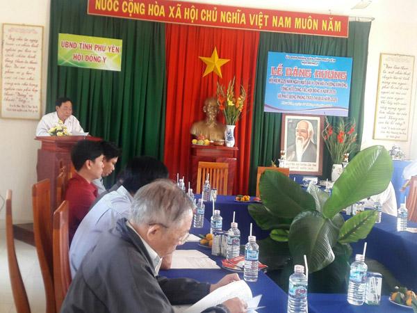 Hội Đông y Phú Yên tổ chức lễ dâng hương tưởng niệm 229 năm ngày mất Hải Thượng Lãn Ông