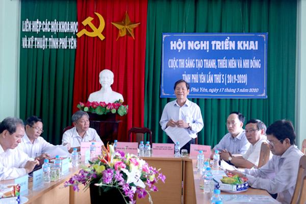 Quang cảnh Hội nghị triển khai Cuộc thi lần thứ 5 (2019-2020)