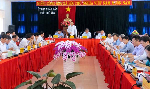 Đồng chí Phạm Đại Dương phát biểu khai mạc hội nghị. Ảnh: TRẦN QUỚI