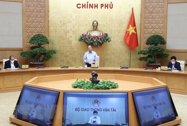 Thủ tướng Nguyễn Xuân Phúc phát biểu - Ảnh: TTXVN