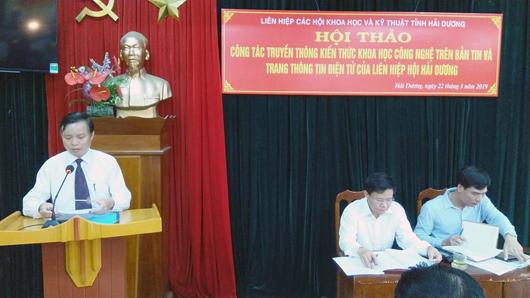 Ông Nguyễn Cao Sơn - Phó chủ tịch Hội Tin học & Điện tử (ảnh st)