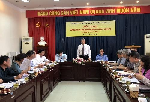 Đồng chí Đặng Vũ Minh – Chủ tịch Liên hiệp Hội Việt Nam phát biểu khai mạc