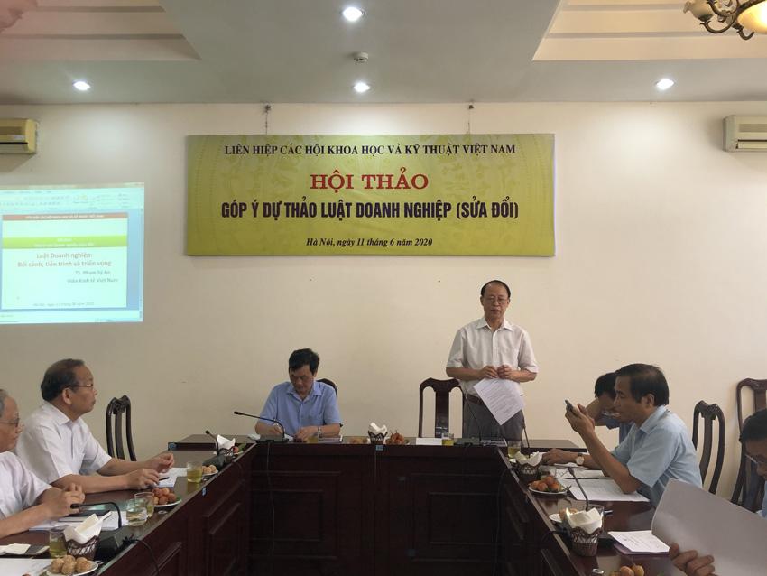 Góp ý dự thảo Luật Doanh nghiệp (sửa đổi)