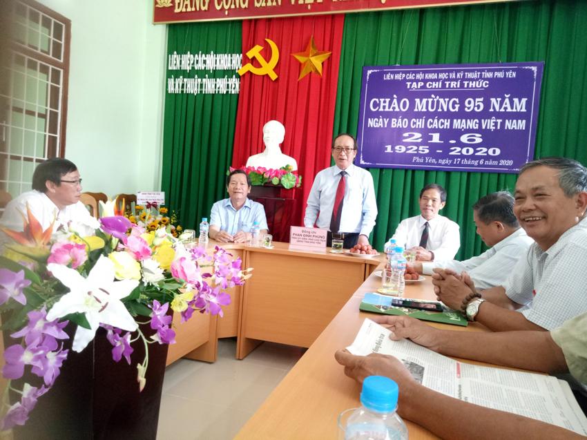 Ông Phan Đình Phùng – PCT UBND Tỉnh phát biểu nhân kỷ niệm 95 năm Ngày báo chí cách mạng Việt Năm 21/6/2020
