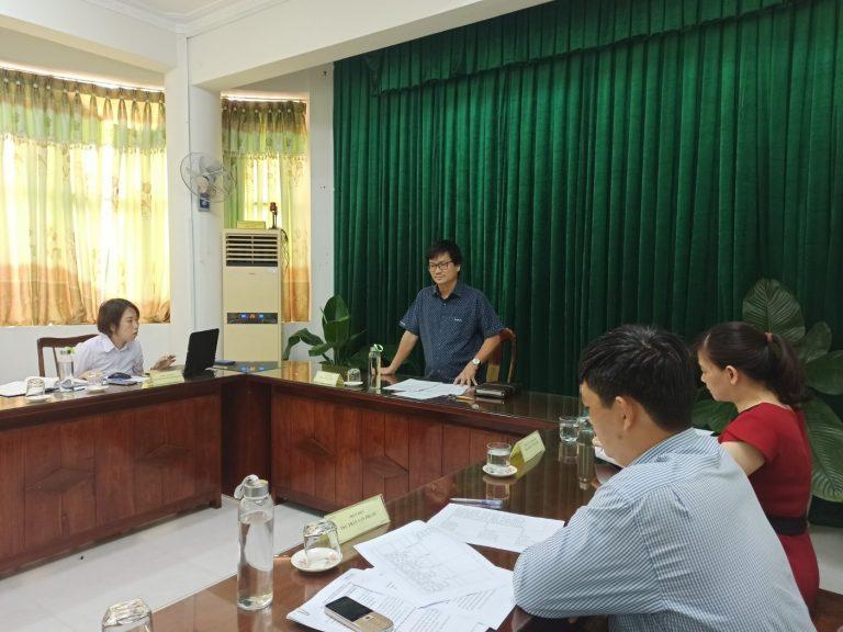 ThS Dương Bình Phú – GĐ Sở Khoa học và Công nghệ, Chủ tịch Hội đồng phát biểu tại cuộc họp
