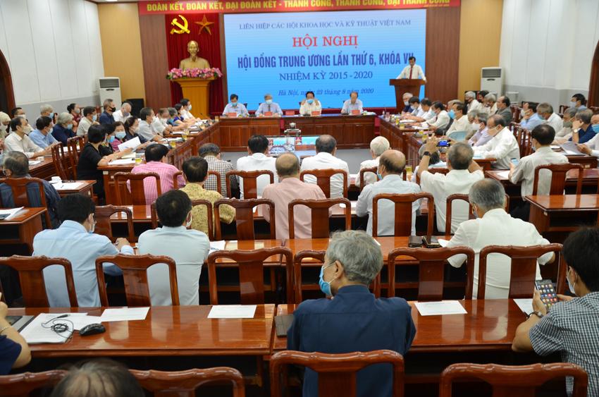 Hội nghị Hội đồng Trung ương Liên hiệp Hội Việt Nam lần thứ VI