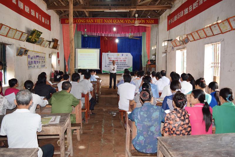 Phát triển nông nghiệp nông thôn, nâng cao năng lực cộng đồng LHH Thanh Hóa luôn  được chú trọng (ảnh st)