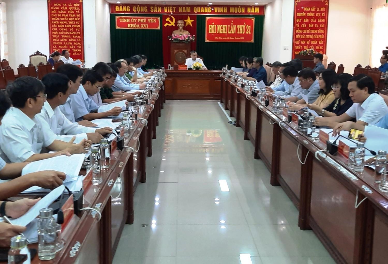 Tỉnh ủy cho ý kiến lần cuối hoàn thiện các nội dung chuẩn bị Đại hội Đảng bộ tỉnh Phú Yên lần thứ XVII