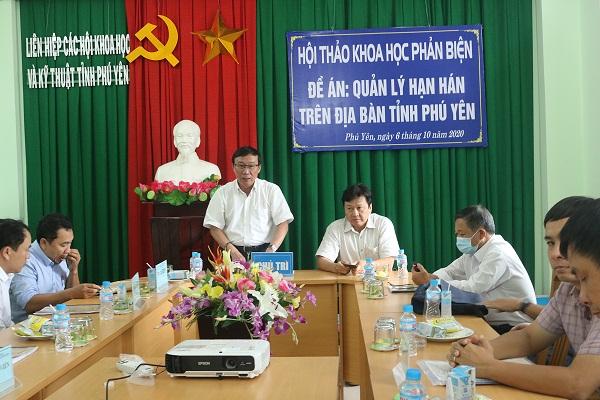 """Hội thảo phản biện Đề án """"Quản lý hạn hán trên địa bàn tỉnh Phú Yên"""""""