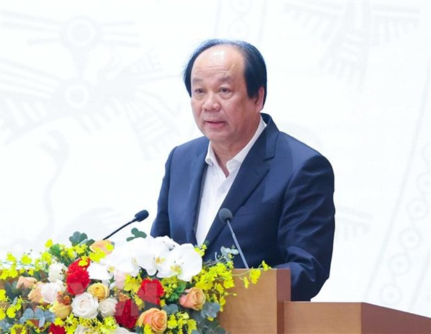 Bộ trưởng, Chủ nhiệm Văn phòng Chính phủ Mai Tiến Dũng. (Ảnh: Thống Nhất/TTXVN)